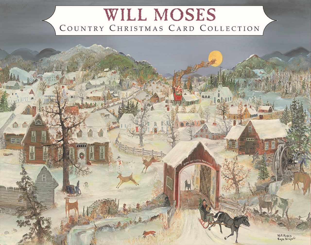 The Art of Will Moses. Will Moses Christmas Card Collection