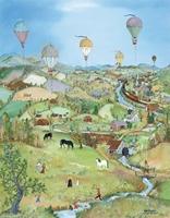 Balloons Over The Cambridge Valley