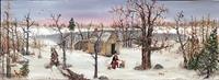 Walden Pond In Winter