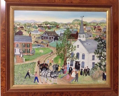 Just Married - Original Oil Painting