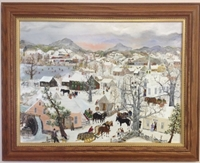 Bedlam Corners Original Oil Painting