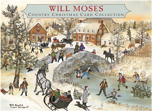Will Moses - Mistletoe Christmas Card Collection